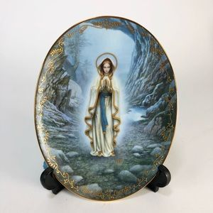 0ur Lady of Lourdes The Bradford Plate